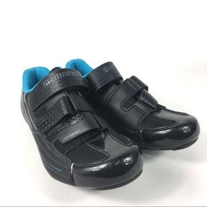 Shimano Road Cycling Shoes Black Sz 8.5